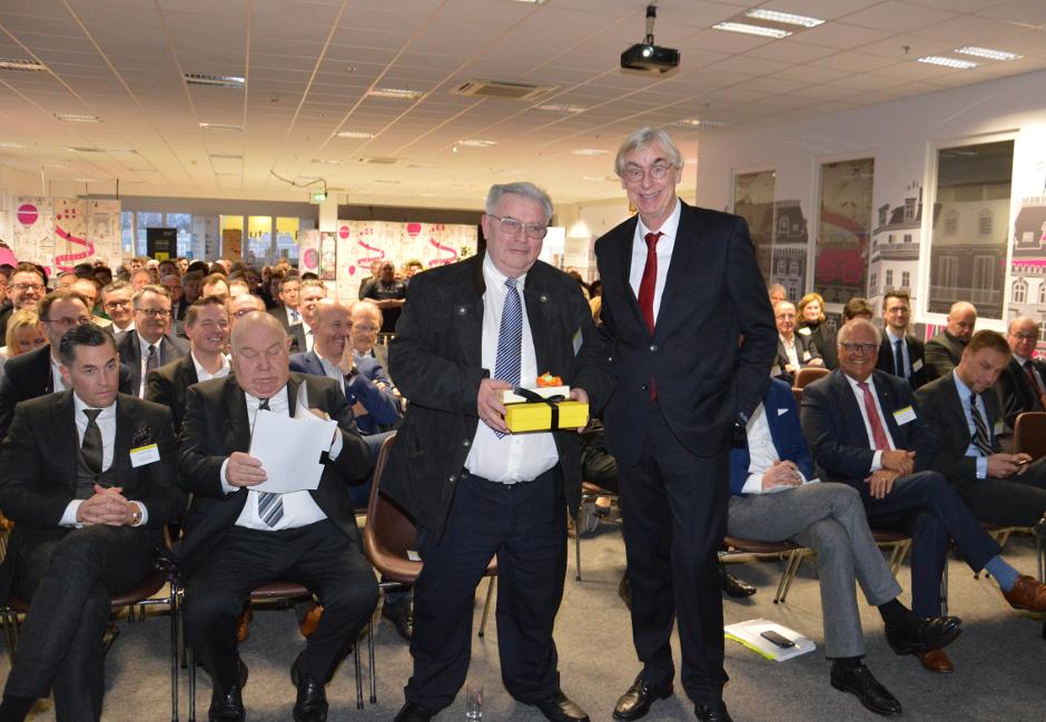 Horst Winkelhag und Prof. Dr. Jürgen Höser, Frühjahrsveranstaltung der IFU 2019